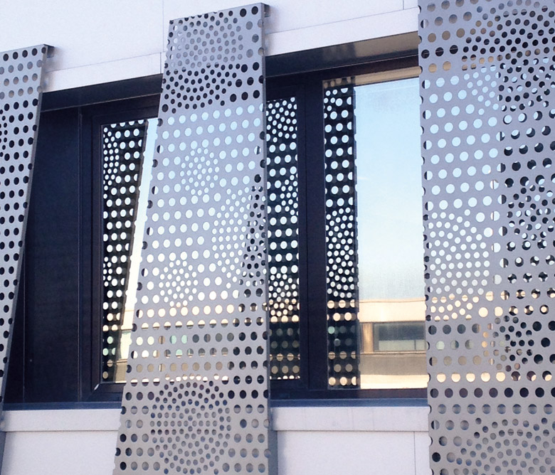 Exterior Cladding Of Buildings And Structures Forni